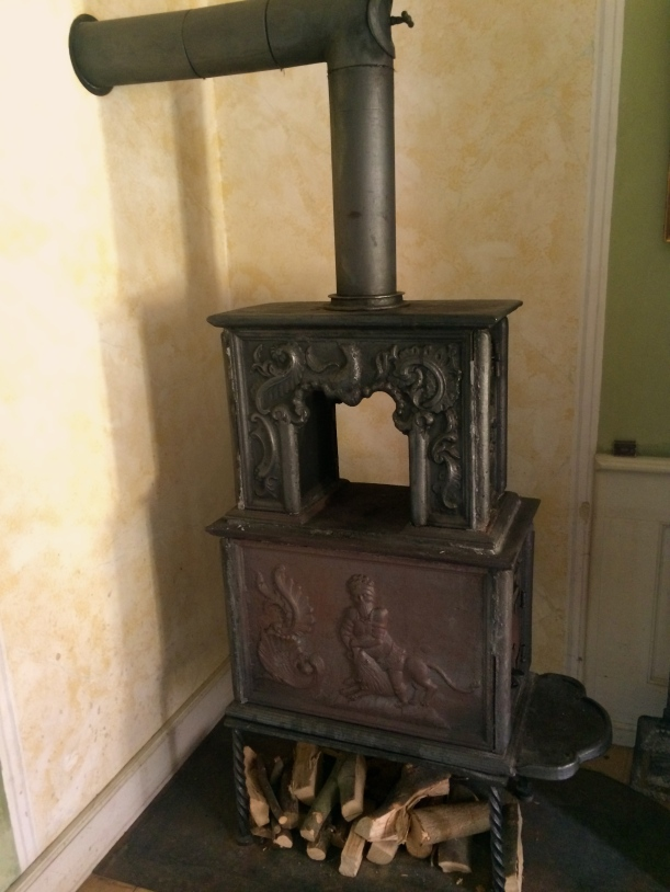 350 year-old stove!